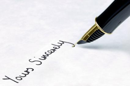 Gruß Und Abschiedsformel In Englischen Briefen Und E Mails
